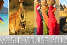 Favourite Places & Spaces / It's time to start dreaming again. Of wonderous sights in faraway places and cultures worlds apart from your own. Silversea's World Cruise 2013 sets sail next January, a 115-day voyage to some of the most exotic places on the planet.