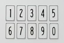 to number / by laura de wilde