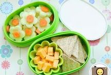 Explore Bentos & Lunchbox Ideas / Darling animals, brightly colored shapes, funny faces...all made out of food. Could your lunchbox get any cuter?