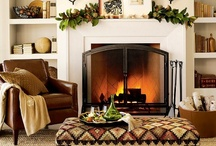mantel ideas / by Lauren Hughes Young