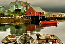 Nova Scotia / Are you a fan of the SyFy show Haven? It's shot in Chester, Nova Scotia and now I'm obsessed about moving there. Who wants to join me?