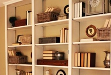 Bookshelf Ideas / by Shiloah Baker of the Homemaking Cottage
