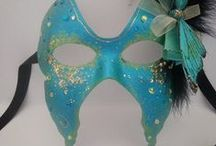Masquerade Masks / Unique masquerade masks for your masked ball or festival, party or theatrical work...you can find mine on Etsy!