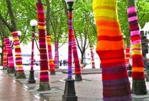 Yarn bombing / by Laura Patterson