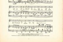 Graphics: music sheets