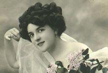 Graphics: vintage women