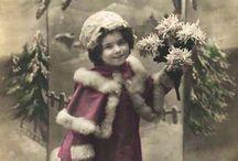 Graphics: vintage christmas/winter
