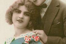 Graphics: vintage couples