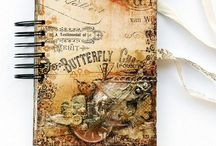 Altered Books, Notebooks, Upcycled Books / On this board you'll find books that have been altered in to junk journals and upcycled notebooks.
