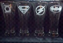 Geek Chic (Super Duper) / Collect all of the DC and Marvel Superheroes and Villains things!  / by Julia Dalton