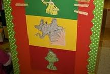 seuss heaven / all things for my seuss room (decor, activities, boards, mngmt)  / by Giovanna Feula