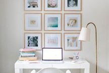 Decorating ideas for the home / Inspiration to decorate (or redecorate) your rooms, dress up those blank walls and fill those book shelves...