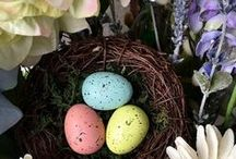 EASTER / Easter décor, food, basket ideas, and activity ideas.