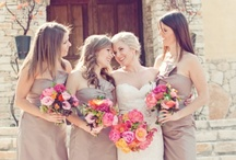 Flowers and Bridesmaid dresses / by Cassia Gallimore