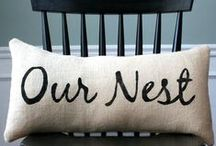 Nesting / sprucing up the nest