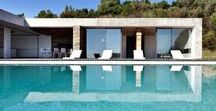 POOLS / Our fabulous portfolio of sleeps 10+ villas, houses and chateax with stunning swimming pools...as well as other pools we just want to dive in to. #pools #travel #luxury