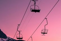 SKI / A snapshot of our cosy ski chalets...and other ski inspiration #ski #travel #luxury