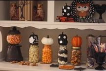 Halloween DIY Decor / Thrifty finds become perfect Halloween decor!