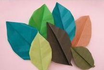 PAPER / Origami / by Miriam Murciego