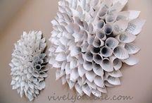 Crafts - Paper Flowers / by Jocelyn Jens