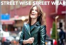Street Wise Street Wear / Fashionable people caught on the sidewalk / by MARRIN COSTELLO® JEWELRY