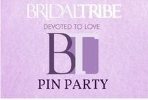 Bridal Tribe Pin Party / Join me and some friends as we Pin some of our favorite things.