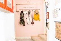 For the Home : Interior / Examples of beautiful home decor with lovely splashes of colour and print! / by Katherine Koren