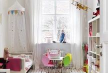 Kids Room ideas for girls / Ideas to decorate, organize and beautify children's room/spaces and Kids Room ideas for girls