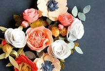 Felt Crafts / Felt flowers and felt crafts