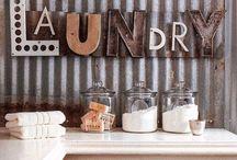 Laundry Room Ideas / DIY laundry room upgrades and decor