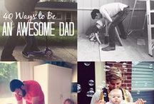 Father's Day / A board celebrating fathers with photos, humor, and gift ideas.