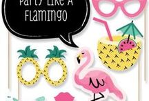Flamingo party ideas / Summer party ideas, summer themed party, flamingo