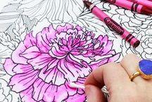 Adult Coloring Techniques Tutorials Tips / Adult Coloring Techniques Tutorials Tips