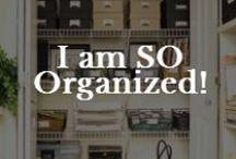 Home: Organization / Home organization. I think I can!