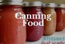 Food: Preservation / Dehydrating, canning and preserving food and food storage ideas. Being prepared in an emergency.