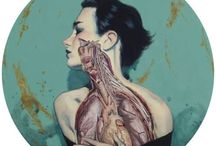 anatomical art and fashion / Art and fashion inspired by anatomy / by Lisa Salvo