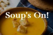 Food: Soups / Nothing beats a good bowl of soup!