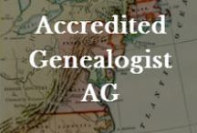 Genealogy: AG Certification / Helps, resources and tips for becoming an Accredited Genealogist through ICAPGEN. / by Valerie Elkins      /      Family Cherished