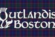 Outlandish Boston / May 2-4 Boston, MA gathering of Outlander fans for fun and festivities. #Outlander #Boston #Gabaldon #Heughan #JAMMF #Kilts #Scotland #Scottish #Starz