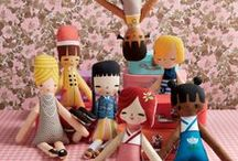 Softies and Statues / Dolls, plushies, sculptural art.