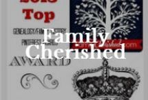 FamilyCherished.com / Blogging about cherishing home and family. Find your family history story. Leave a Legacy.  #familyhistory #genealogy / by Valerie Elkins      /      Family Cherished