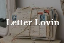 Interests: Letter Writing / The written word. Oh how lovely.