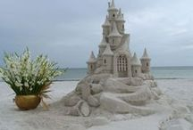 Beach Wedding Inspirations / U.S. Beach Destination Weddings l Outer Banks Weddings l Luxury Outer Banks Event Homes l www.CarolinaDesigns.com - (800) 368-3825
