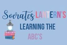 Socrates Lantern's Learning the ABCs / Alphabet practice and reinforcement, powerpoint program, which letter comes before or after, homework sheets, etc.