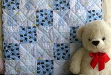 Baby Quilts for Boys / Handmade baby quilts for boys