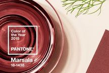 Marsala Pantone Color Of The Year / Marsala is the Pantone Color Of The Year for 2015!  Here's a number of ways to incorporate this beautiful hue in your everyday style!