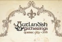 Outlandish Gatherings / Outlandish Gatherings is an annual Outlander meet up for fans BY fans. It's held in a different North American city each year.  Past cities have included Boston and Quebec City.  Visit www.outlandishgatherings.com for more info, or like us at facebook.com/outlandishgatherings and on twitter and instagram at @OutlandishGath - we hope to see you at our next Gathering in 2016! #OG2015
