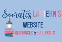Socrates Lantern's Website Resources & Blog Posts / Be sure to visit Socrates Lantern's Website for lesson plans, ideas, and tips and freebies for teachers. Among my posts there are activities to enhance Character Building, Language Arts Skills, Classroom Management, project based history activities and much more.