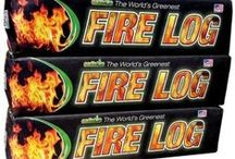Earthlog Products / Our Fire Logs made from 100% recycled post consumer waste More Heat, Less smoke!