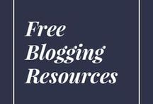 { free resources for bloggers } / freebies for bloggers | free templates | tutorials for bloggers | free courses for bloggers | free blogging courses | free blogging resources